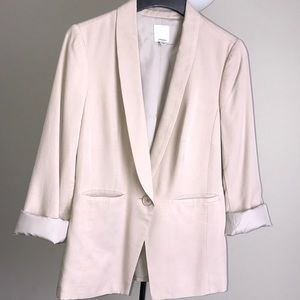 Halogen One Button Suits Jacket
